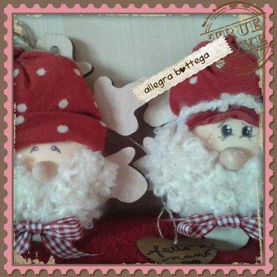 Babbo Natale fiocco