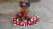 Fuoriporta natalizio Rudolph