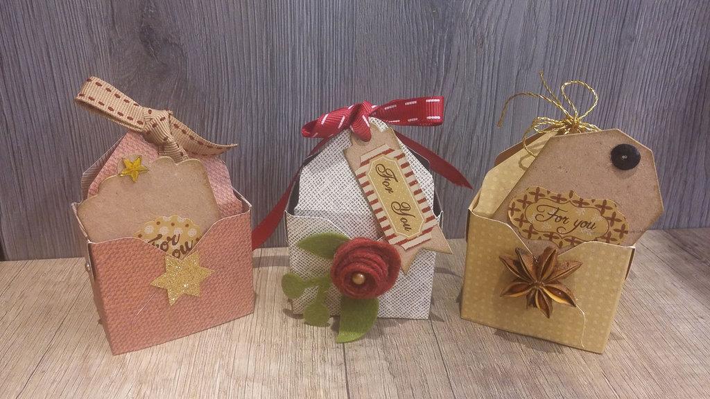 Irresistibili scatoline per regali preziosi