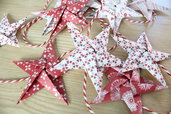 Ghirlanda di Natale origami fatta a mano