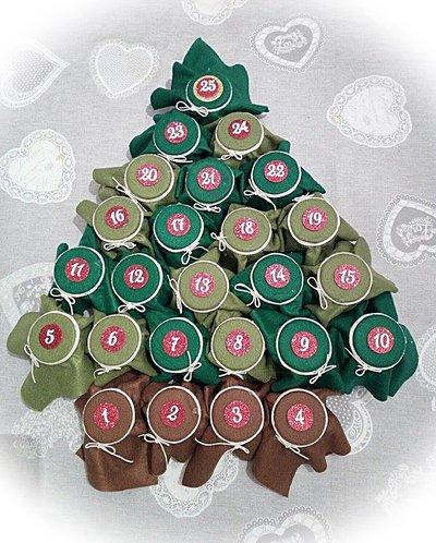 Numeri per calendario dell 39 avvento fai da te feste - Numeri per tavoli fai da te ...