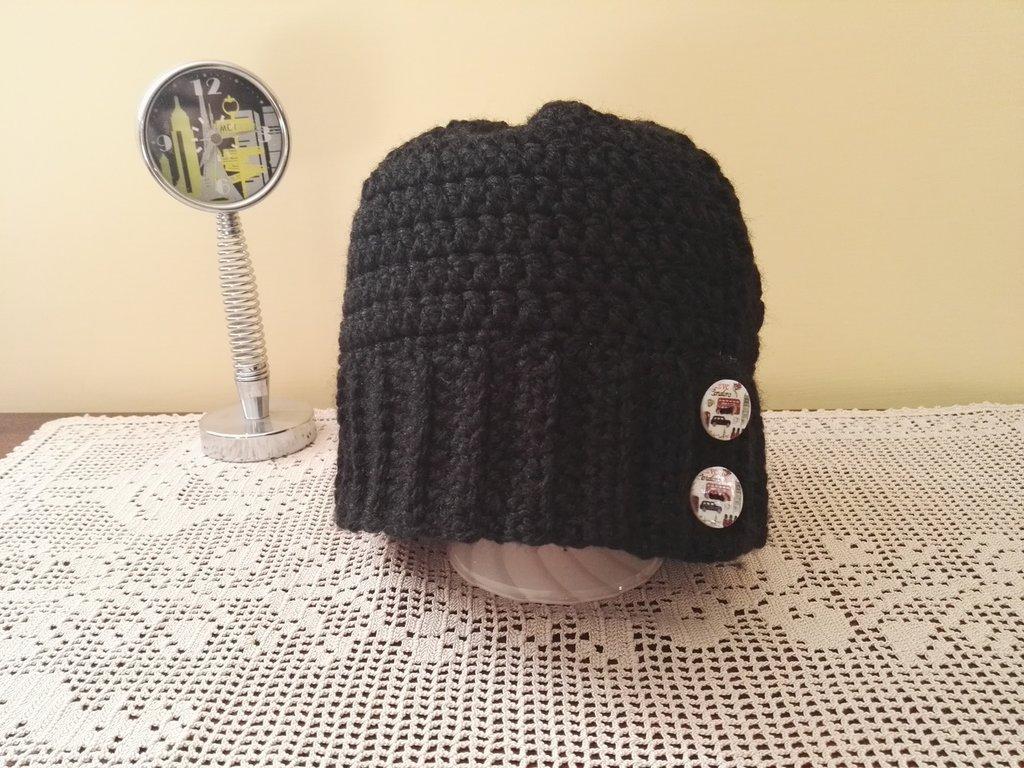 Cappello bottoni Londra