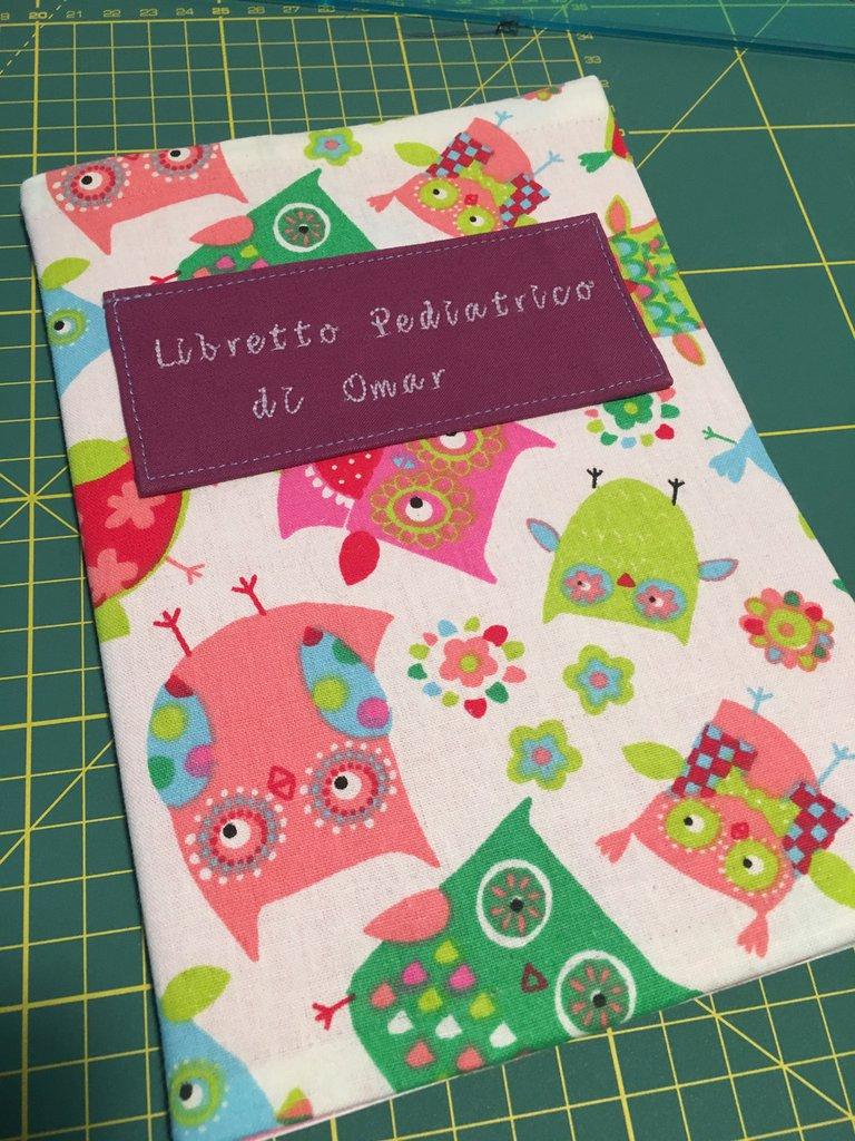 Cover Per Libretto pediatrico