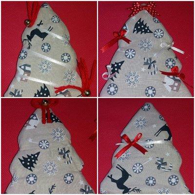 Alberi decorazione natalizia
