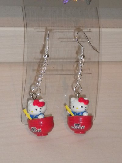 "ORECCHINI ""HELLO KITTY COPPETTA"""