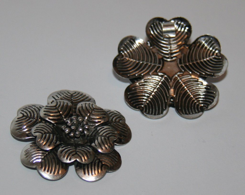 Grande pendente in argento tibetano  CIO29
