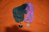 Sciarpa gioiello diversi colori