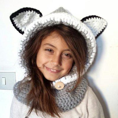 online qui up-to-date styling vasto assortimento Scaldacollo con cappuccio Gray Fox