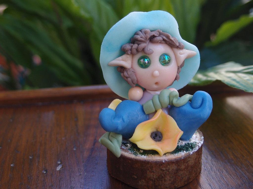 Elfo  originale in pasta di mais