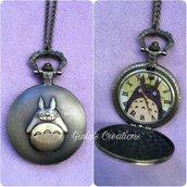 Collana orologio My neighbor Totoro il mio vicino Totoro anime japan cosplay cartoni animati studio ghibli