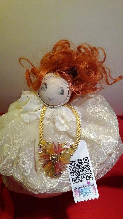 """""""Rosy"""" bambolina decoro"""