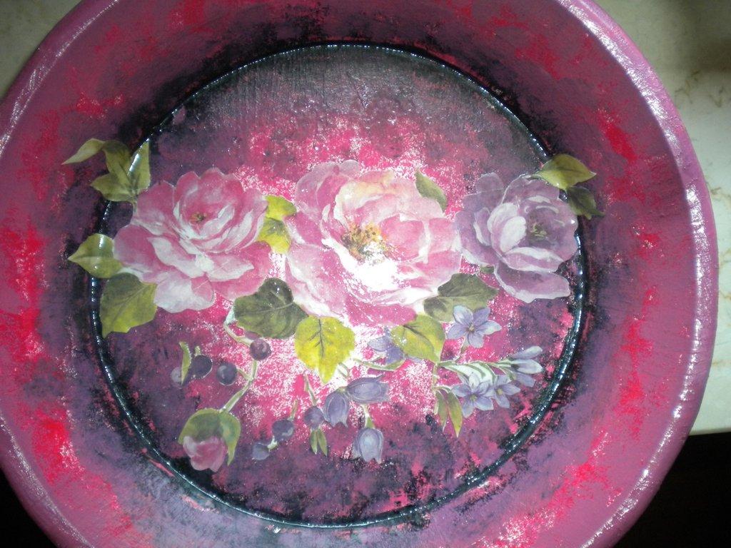 vassoio di fiori