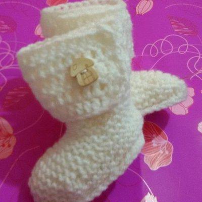 Scarpette scarpine stivaletti tipo Ugg neonato regalo