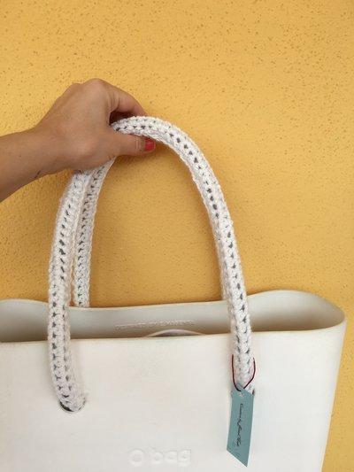 manici compatibili o bag handmade uncinetto resistenza 2 kg