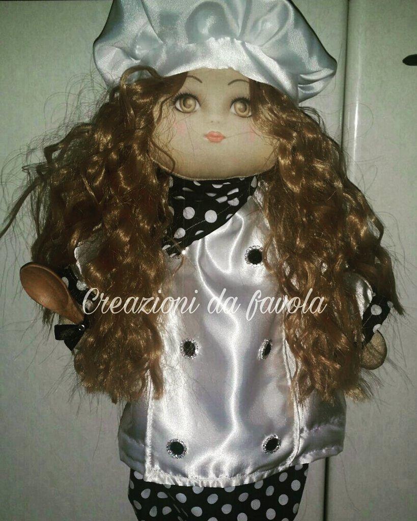 Bambola portasacchetti Thiana