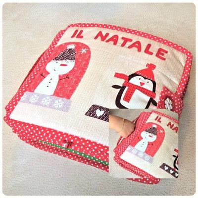 Il Natale - Quiet book in stoffa e feltro