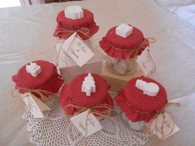 Inserzione riservata per Federicaelia: barattolini natalizi.