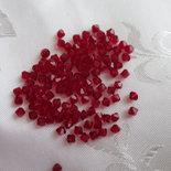 Cristallo Swarovski bicono 4 mm colore Siam x50