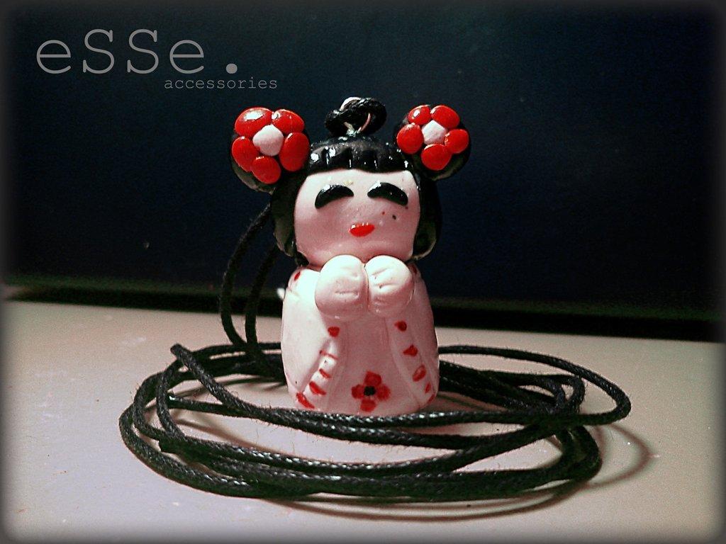 Necklace Kokeshi