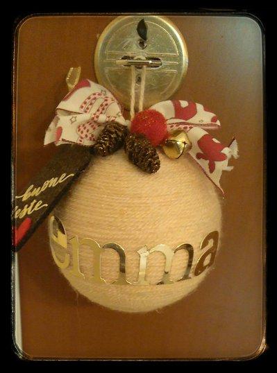 Palle di Natale personalizzate