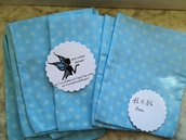 Offerta Sacchetto bomboniere azzurro 14 pz
