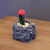 vaso pietra angolare fatto a mano dim 11x11