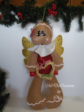 ,,Angelo Gingerbread,,simpatica decorazione Natalizia