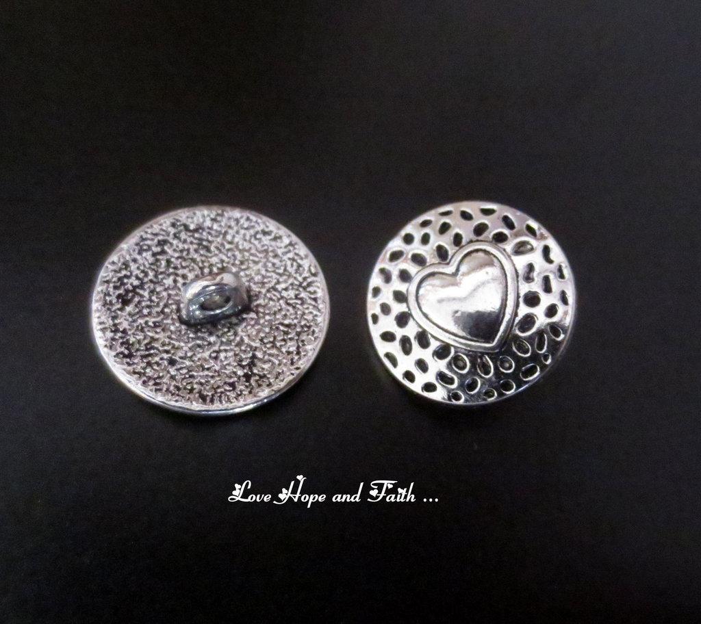 1 Paio di bottoni in metallo (18mm) (cod. new)