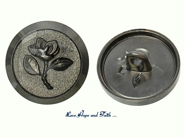 1 bottone in metallo (17,5mm) (cod. new)