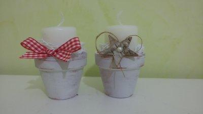 vasetti mini candelabro
