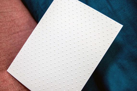 Biglietti Polka Dot, Set di Biglietti, Biglietti Rilievo, Card Occasioni, Biglietti Handmade, Biglietti Decorati, Biglietti Compleanno