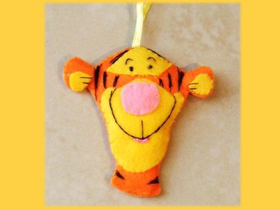 Tigro pannolenci