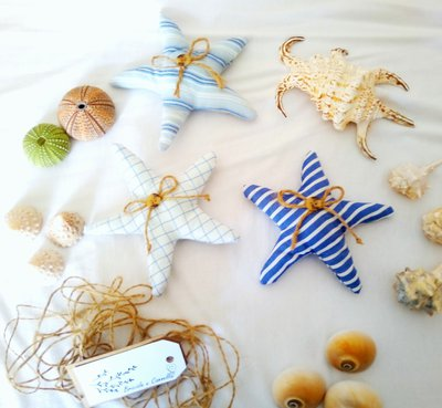 Stelle marine realizzate a mano
