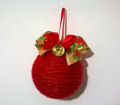 Palla di Natale, addobbi Natalizi