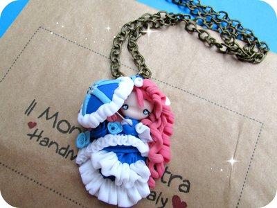 Collana Doll Parigina 800 in Fimo Handmade