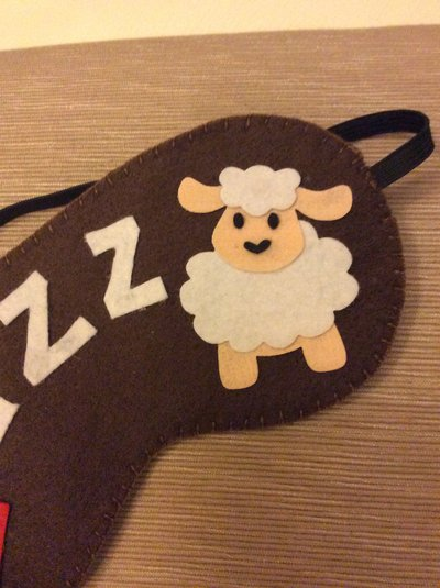 Mascherina zzzzzz pecorella