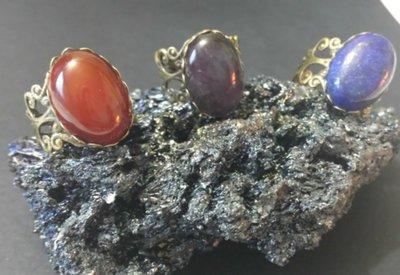Anelli regolabili con pietra naturale