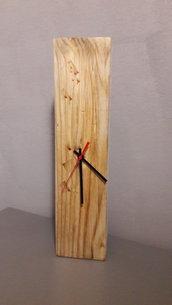 Orologio in legno da parete o da tavolo