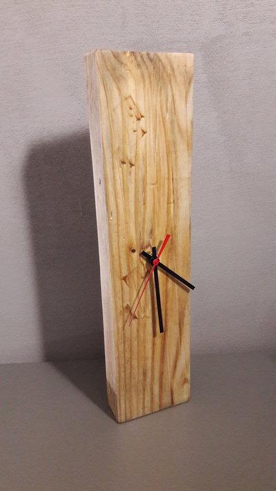 Cake Design Via Tuscolana : Orologio in legno da parete o da tavolo - Per la casa e ...