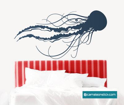 Medusa - adesivo murale medusa - sticker da parete