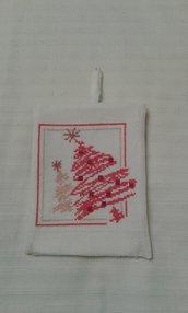 Addobbo natalizio albero di natale