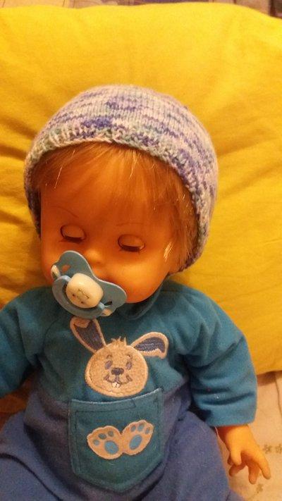 beretto per neonati autunno primavera autunno blu