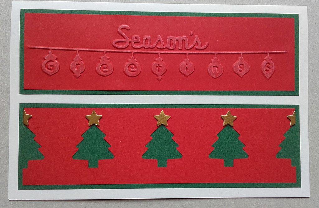 Biglietto di auguri di Natale