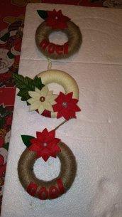 Mini ghirlandina natalizia