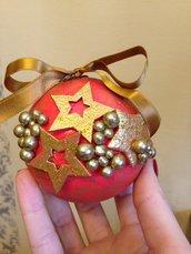 Addobbo natalizio palla