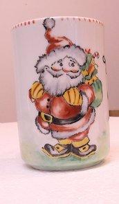 tazze in ceramica dipinte