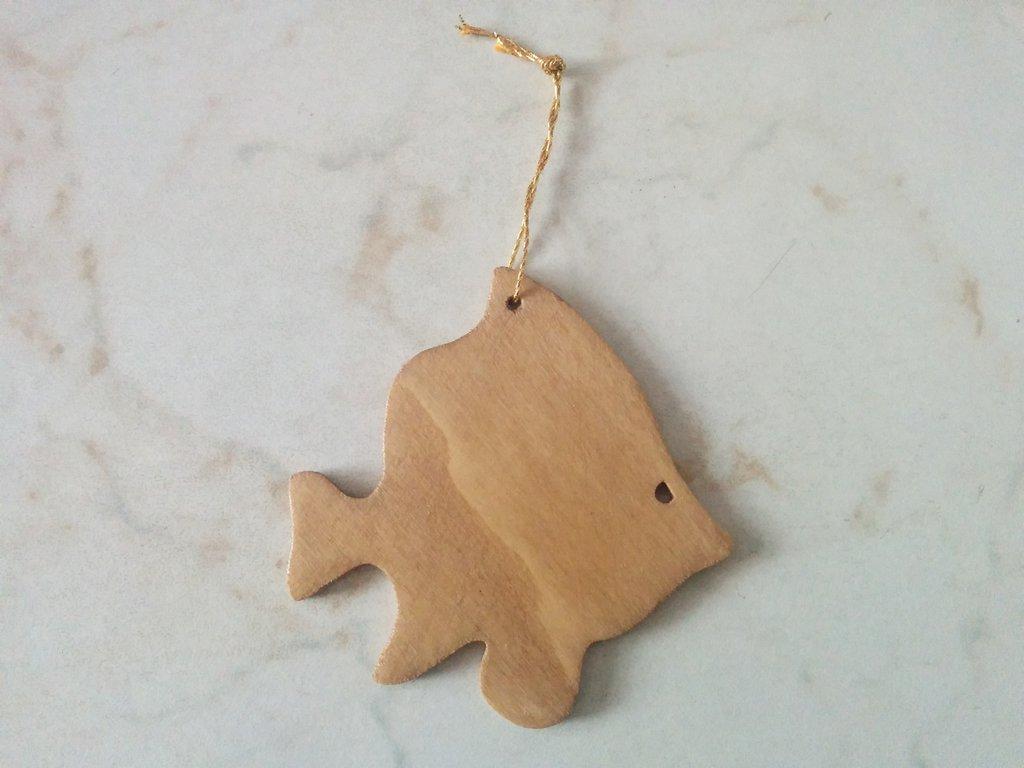 Addobbi per albero di Natale: pesce