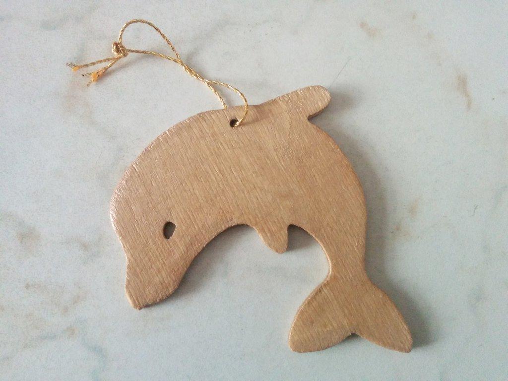 Addobbi per albero di Natale: delfino