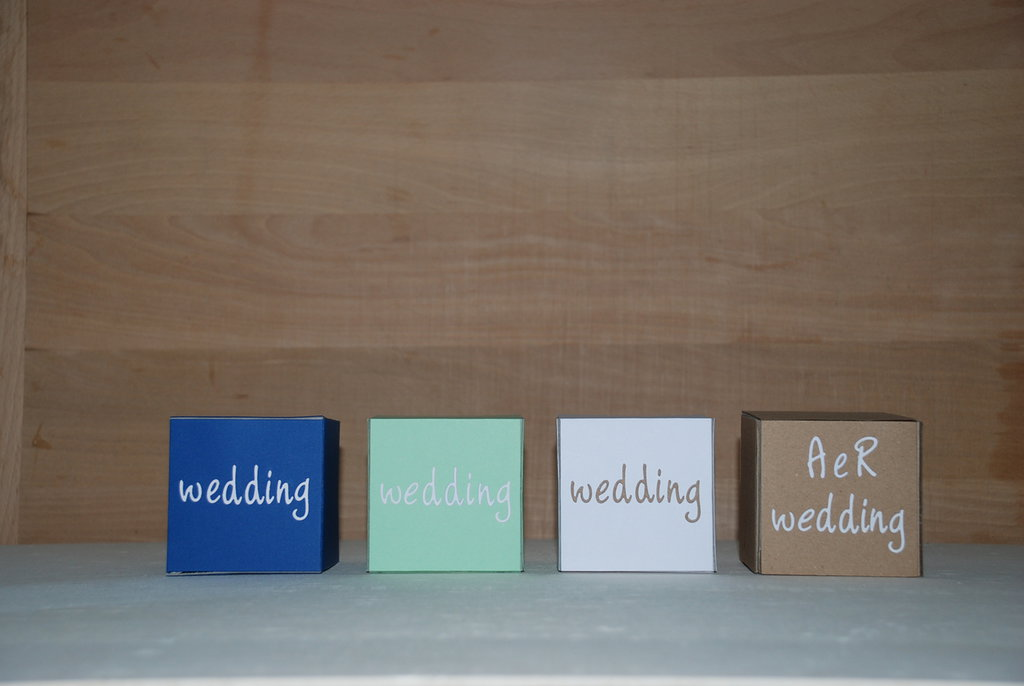 WEDDING BOX SCATOLINA MATRIMONIO