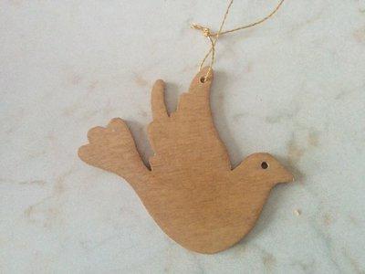 Addobbi per albero di Natale: colomba